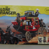 Lego The Lone Ranger 79108 Stagecoach Escape, nou, sigilat, 279 piese, 7-14 ani - LEGO Minifigurine, 6-10 ani
