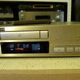 Sony CDP-X559ES High-End CD Player, sampanie, lemne, poze reale