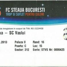 Bilet meci Steaua - FC Vaslui (2013)