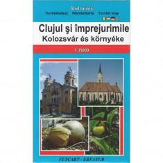 Dimap Harta Turistica a Clujului si Imprejurimile