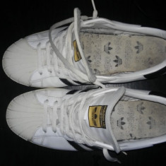 Adidasi barbati, Piele naturala - Adidasi adidas originali piele marimea 45