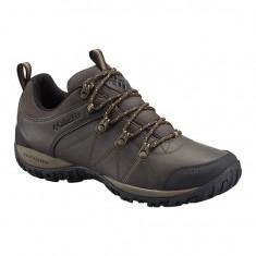 Pantofi barbatesti din piele Columbia Peakfreak Venture Waterproof Cordovan (CLM-BM3992-COR) - Pantofi barbati Columbia, Marime: 45, Culoare: Maro