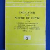 INDICATOR DE NORME DE DEVIZ PENTRU LUCRARI DE CONDUCTE DISTRIBUTIE GAZE (G)-1981 - Carti Constructii