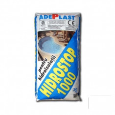 Ciment - Tencuiala pentru hidroizolare cladiri Hidrostop 1000 - 30 kg