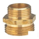 "Gradinarit - Niplu filetat de reductie din alama Gardena - 26, 5 mm (G 3/4"") / 21 mm (G 1/2"")"