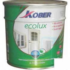 Vopsea auto - Vopsea alba Ecolux - 0.75 L