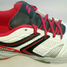 Adidasi copii Altele, Unisex, Piele sintetica - Adidasi tenis BABOLAT Drive 3 all court marime 35.5