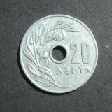 GRECIA 20 LEPTA 1954, Europa