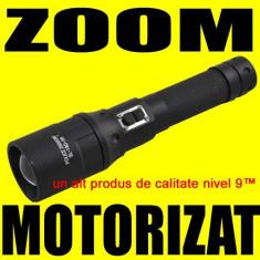 POLICE Lanterna cu ZOOM MOTORIZAT