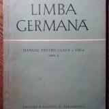 Manual Clasa a VIII-a, Limbi straine - Limba Germana - Manual pentru clasa a VIII-a (anul I)