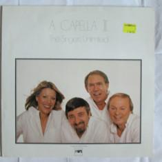 VINIL L.P. JAZZ A CAPELLA III/CHICK COREA 1980 THE SINGERS UNLIMITED - Muzica Jazz Altele