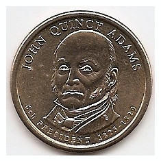 Monede Straine, America de Nord, An: 2008 - Statele Unite (SUA) 1 Dolar 2008 - (John Quincy Adams), KM-427