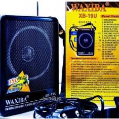 Boxe Telefon - Mini BOXA Waxiba cu Afisaj MP3 SI RADIO FM portabila
