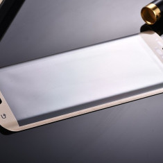 Folie Sticla Samsung Galaxy S6 Edge Gold/Silver/Blue/Black/Green - Folie de protectie