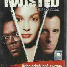 Samuel Jackson, Ashley Judd, Andy Garcia - TWISTED, DISTORSIONANAREA (DVD) - Film thriller, Romana