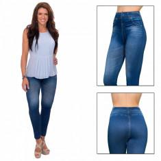 Colanti dama - Colanti modelatori pentru slabit blugi dama Slim N Lift Carresse Jeans