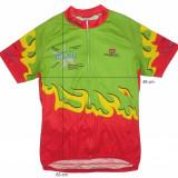 Tricou bicicleta ciclism OWAYO original, fermoar pe lungime(M spre S) cod-165330