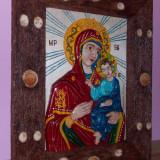 Sculptura - Fecioara Maria cu pruncul Iisus