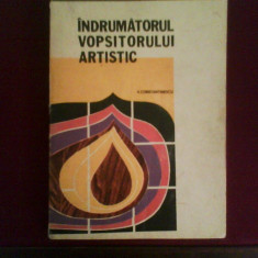 V. Constantinescu Indrumatorul vopsitorului artistic - Carte Hobby Amenajari interioare