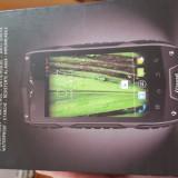 Telefon mobil, Negru, 4GB, Neblocat, Dual SIM, Single core - Telefon antishock, waterproof CrossCall Odyssey+ dualsim, 3G, 8MP, NOU
