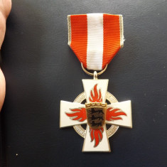 Decoratie Germana pentru pompieri.Stare excelenta.