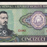 1. ROMANIA, 50 LEI 1966, AUNC, An: 1966