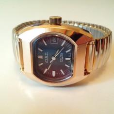 Ceas mecanic vintage CINY Prima Swiss Made, 17 jewels, Mecanism FHF 372 - Ceas de mana