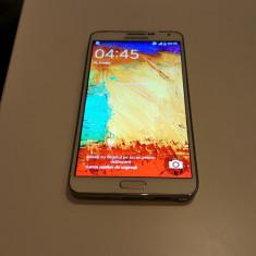 Telefon mobil Samsung Galaxy Note 3, Alb, 32GB, Neblocat, Single SIM, 2G & 3G & 4G - SAMSUNG GALAXY NOTE 3 N9005 WHITE 32GB NECODAT POZE REALE