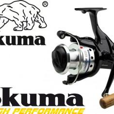 Mulineta Stationar Okuma Longbow Baitfeeder Tambur 50 ( LB 50, O.LG650 ), Lansat, stationar