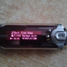 MP3 SONY WALKMAN 1 GB MODEL NWZ-E407 PERFECT FUNCTIONAL+BONUS - MP3 player Sony, Gri, Display
