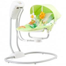 Set mobila copii - Leagan Si Balansoar Electric Chipolino Malibu Chicks