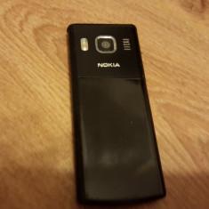 Telefon Nokia, Negru, Nu se aplica, Neblocat, Fara procesor, Nu se aplica - Nokia 6500 Classic - 119 lei