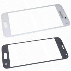 Geam carcasa - Ecran Samsung Galaxy s5 mini SM-G800F alb geam