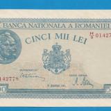 5000 lei 1945 20 decembrie aUNC