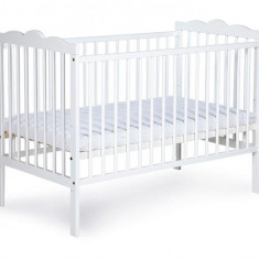 Patut Copii Klups Radek Iii Alb - Patut lemn pentru bebelusi
