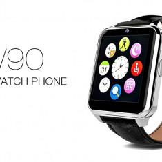 Smartwatch W90 Edition, Ceas Telefon inteligent cu Sim!NOI! Ecran IPS! PRET MIC!