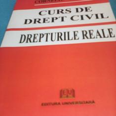 CORNELIU TURIANU-CURS DE DREPT CIVIL DREPTURILE REALE EDITURA UNIVERSITARA - Carte Drept civil