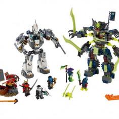 Lupta Robotului Titan - LEGO Ninjago