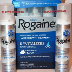 ROGAINE Foam Men 5% Minoxidil - Tratament 1LUNA / 1 TUB