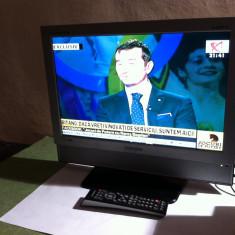 Televizor LCD Samsung, 22 inchi (56 cm), Intrare RF, Scart, VGA - TV LCD 19 INCH SAMSUNG 940MW + TELECOMANDA SAMSUNG