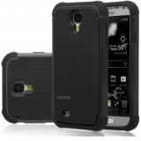 HUSA / CARCASA S4 CAUCIUC HEAVY DUTY, Samsung Galaxy S4, Negru