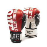 Saci box - Manusi Box Unisex, Leone, Explosion, GN055-03, Rosu, marime 14 Oz Leone