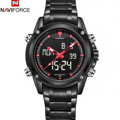 CEAS NAVY FORCE BLACK NAVYRANGER CARBON BLACK-MODEL 2016(MILITAR)-BACKLIGHT !! - Ceas barbatesc, Casual, Quartz, Inox, Ziua si data