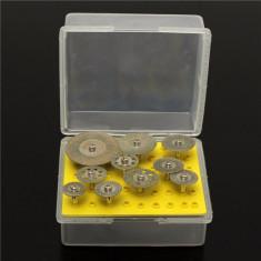 Set 10 discuri diamantate pentru biax (Dremel)