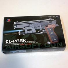 Arma Airsoft - Pistol cu bile Air Soft CL-P88k