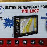 GPS PilotOn portabil PNI L707 7 inch, 800 MHz, 256M DDR 8GB iGO Primo