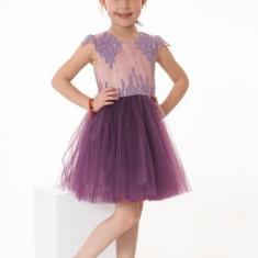 Rochie fete Purple Lace Dream (Culoare: violet, Imbracaminte pentru varsta: 12 ani - 152 cm)