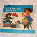 """Carte educativa - Cartea""""Cu acul si ata""""-1974"""