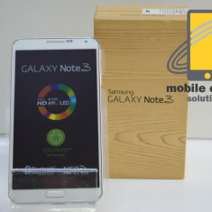Samsung Galaxy Note 3 Alb 32 GB NOU! Factura si Garantie! Posibilitate RATE! - Telefon mobil Samsung Galaxy Note 3, Neblocat, Single SIM, 2G & 3G & 4G