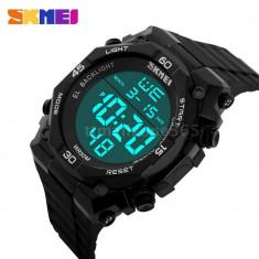 Skmei ceas, militar, outdoor, sport, digital, ceas negru, nou - Ceas barbatesc